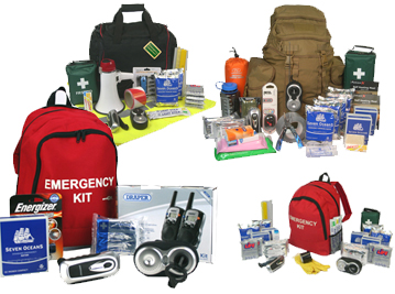 Standard and bespoke Emergency Kits for individuals, communities, businesses and organization in the UK and worldwide | SURVIVAL UK with Emergency Kits from EVAQ8.co.uk the UK's Emergency Prepardness specialist - SURVIVAL UK