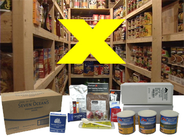 Food Kits - Emergency Food | SURVIVAL UK: calculate minimum 2 fully blanced meals per day | Emergency Preparedness EVAQ8.co.uk SURVIVAL UK