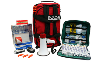 Site Evacuation Kit - Business Emergency Preparedness | SURVIVAL UK: BusinessContinuity and Emergency Preparedness supplies | EVAQ8.co.uk the UK's Emergency Prepardness specialist - SURVIVAL UK