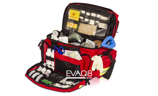 Medical Kit Bags fully kitted for first aid | SURVIVAL UK - First Aid and Emergency Preparedness tools and supplies from EVAQ8.co.uk the UK's Emergency Prepardness specialist - SURVIVAL UK